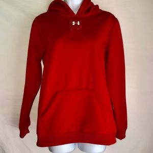 Under Armour Tops - Under Armour Red Hoodie